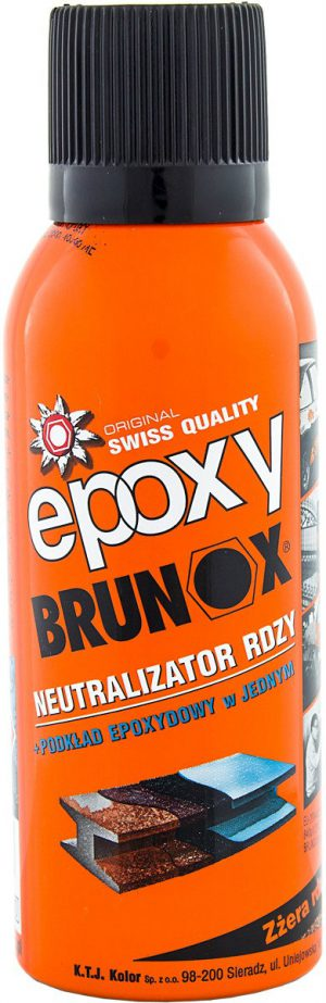 BRUNOX Epoxy Neutralizator rdzy + podkład epoxydowy w jednym