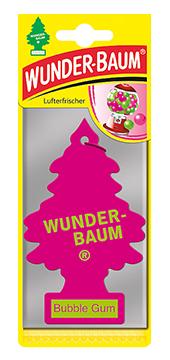 WUNDER-BAUM Drzewko zapachowe, odświeżacz samochodowy - Zapach Bubble Gum