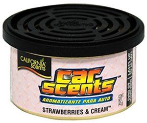 CALIFORNIA SCENTS Odświeżacz powietrza Car Scents - Zapach Strawberries & Cream