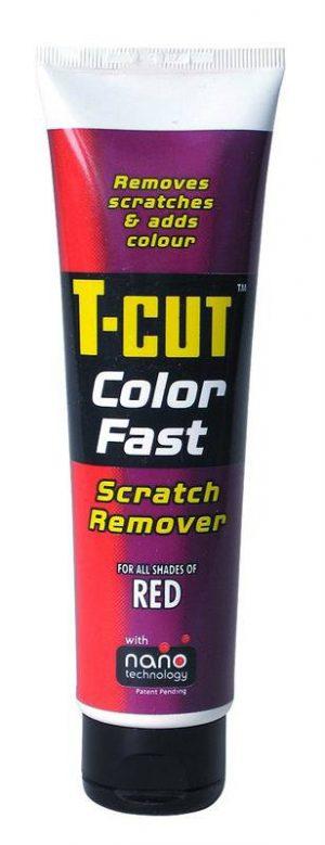 CARPLAN T-Cut Color Fast Scratch Remover Woskująca pasta lekkościerna NANO Czerwony