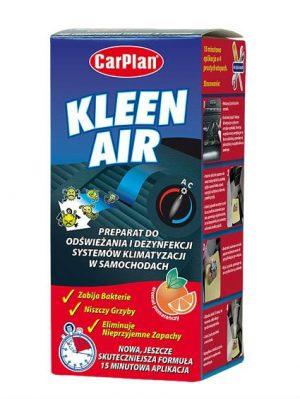 CARPLAN Kleen Air Preparat do odświeżania i dezynfekcji systemów klimatyzacji w samochodach