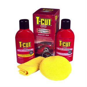 CARPLAN T-Cut 365 Zaawansowany zestaw do ochrony lakieru Czerwony