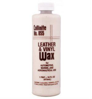 COLLINITE 855 Leather and Vinyl Wax Mleczko do pielęgnacji tapicerki skórzanej