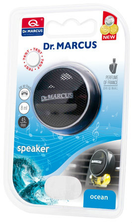 DR. MARCUS SPEAKER - Zapach samochodowy OCEAN