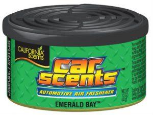 CALIFORNIA SCENTS Odświeżacz powietrza Car Scents - Zapach Emerald Bay