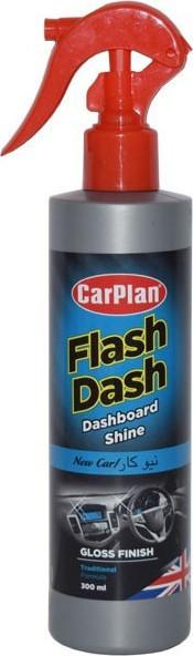 CARPLAN Flash Dash Gloss Finish Pump Spray Preparat do czyszczenia kokpitu - Połysk - Atomizer New Car (FSN300)