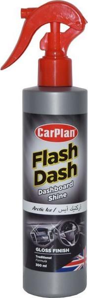 CARPLAN Flash Dash Gloss Finish Pump Spray Preparat do czyszczenia kokpitu - Połysk - Atomizer Artic Ice (FDB300)