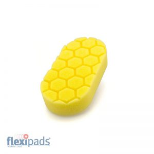 Flexipads Aplikator PRO-DETAIL Yellow Heavy Cut (HLA20)