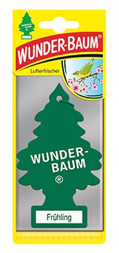 WUNDER-BAUM Drzewko zapachowe, odświeżacz samochodowy - Zapach Wiosenny