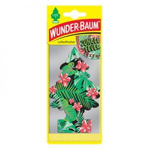 WUNDER-BAUM Drzewko zapachowe, odświeżacz samochodowy zapach Jungle Fever