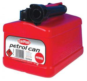 CARPLAN Kanister plastikowy 5L czerwony