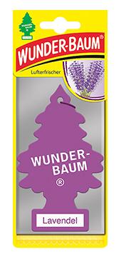 WUNDER-BAUM Drzewko zapachowe, odświeżacz samochodowy zapach Lawenda