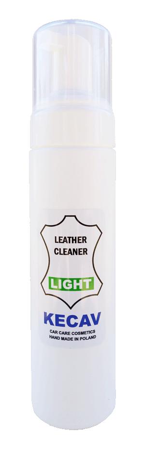 KECAV Leather Cleaner LIGHT Środek do czyszczenia skóry 230ml
