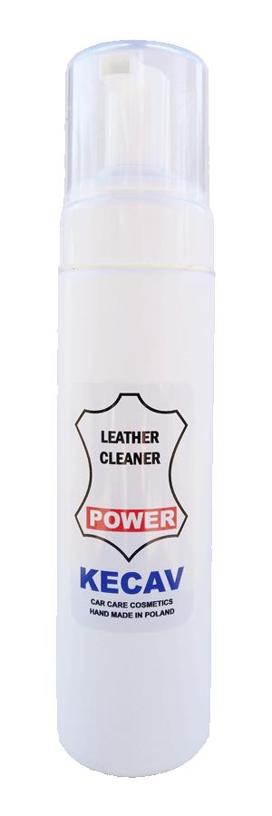 KECAV Leather Cleaner POWER Środek do czyszczenia skóry 230ml