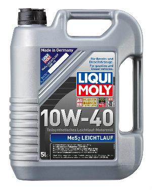 LIQUI MOLY MoS2 LEICHTLAUF Olej silnikowy 10W40 5L (2184)