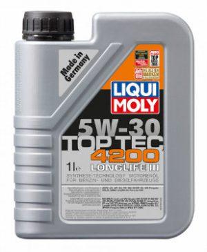 LIQUI MOLY TOP TEC 4200 LONGLIFE III Olej silnikowy 5W30 1L (8972)