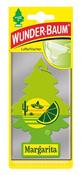 WUNDER-BAUM Drzewko zapachowe, odświeżacz samochodowy - Zapach Margarita