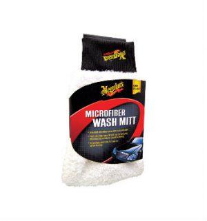 MEGUIAR'S Microfiber Wash Mitt Rękawica z mikrofibry do mycia samochodu