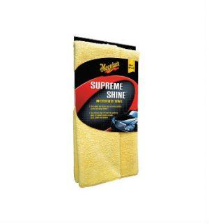 MEGUIAR'S Supreme Shine Microfiber Towel Ręczniczek z microfibry do czyszczenia i polerowana