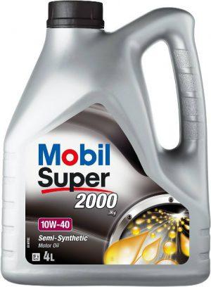 MOBIL SUPER 2000 X1 4L Olej silnikowy 10W40