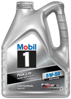 MOBIL 1 Peak Life 4L Olej silnikowy 5W50