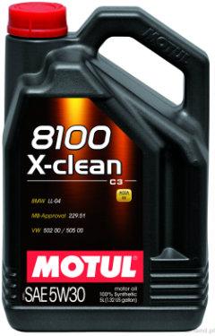 MOTUL 8100 X-clean C3 Olej silnikowy 5W30 5L