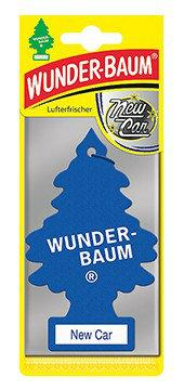 WUNDER-BAUM Drzewko zapachowe, odświeżacz samochodowy - Zapach New Car
