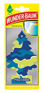 WUNDER-BAUM Drzewko zapachowe, odświeżacz samochodowy - Zapach Pina Colada