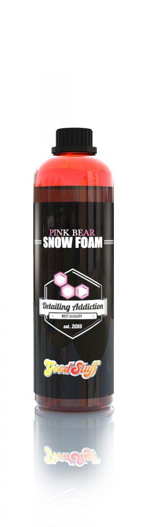 Good Stuff PINK Bear Snow Foam – piana aktywa, neutralne pH, różowy kolor 500ml