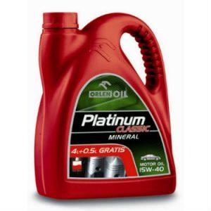 ORLEN PLATINUM CLASSIC MINERAL Olej silnikowy 15W40 4,5L