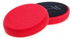 NAT Gąbka polerska Czerwona średnio miękka 150mm