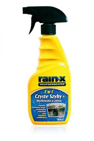 RAIN-X 2w1 Czyste szyby + Wycieraczka w płynie