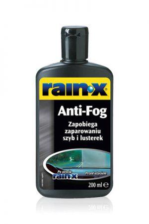 RAIN-X Zapobiega zaparowaniu szyb i lusterek