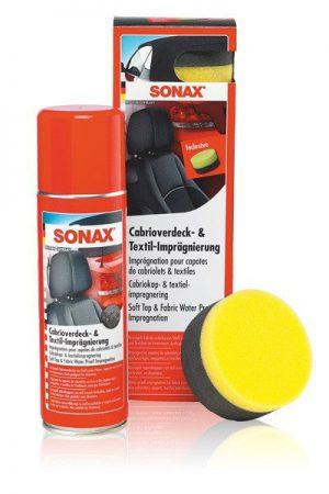 SONAX Impregnat do dachów i tapicerki w kabrioletach