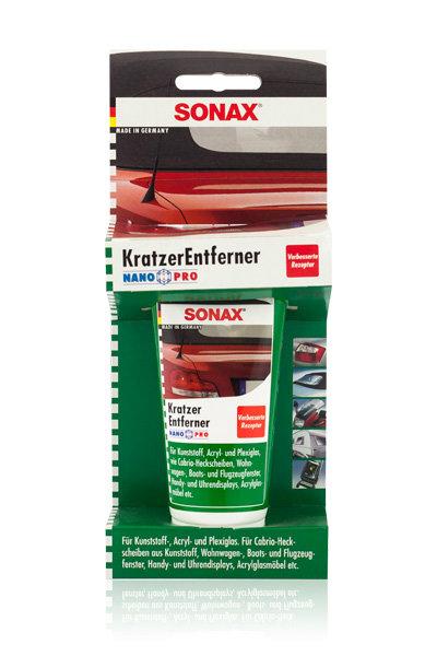 SONAX Do renowacji przezroczystych plastików