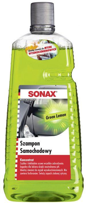 SONAX Green Lemon Szampon samochodowy koncentrat 2L