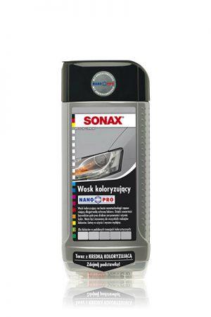 SONAX Polish&Wax Color Wosk koloryzujący NanoPro srebrny