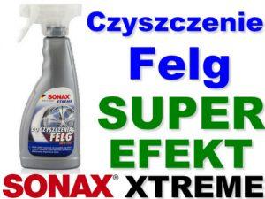 SONAX XTREME Do czyszczenia felg Super efekt