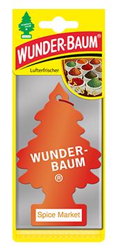 WUNDER-BAUM Drzewko zapachowe, odświeżacz samochodowy - Zapach Spice Market