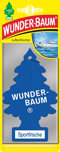 WUNDER-BAUM Drzewko zapachowe, odświeżacz samochodowy - Zapach Sport