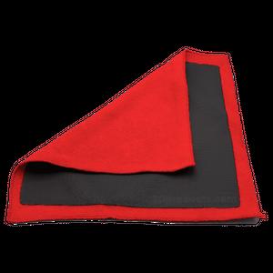 Clay Towel Perforated Ręcznik polimerowy do glinkowania lakieru z perforacją czerwony