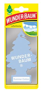 WUNDER-BAUM Drzewko zapachowe, odświeżacz samochodowy - Zapach Summer Cotton