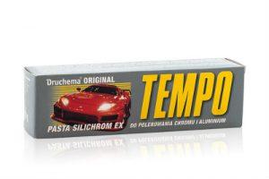 Druchema Original TEMPO Silichrom EX Pasta do polerowania chromu i aluminium