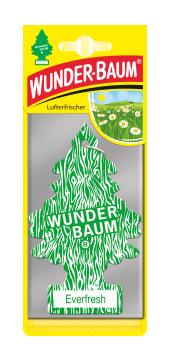 WUNDER-BAUM Drzewko zapachowe, odświeżacz samochodowy - Zapach Zawsze świeży