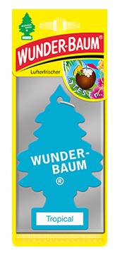 WUNDER-BAUM Drzewko zapachowe, odświeżacz samochodowy zapach Tropical