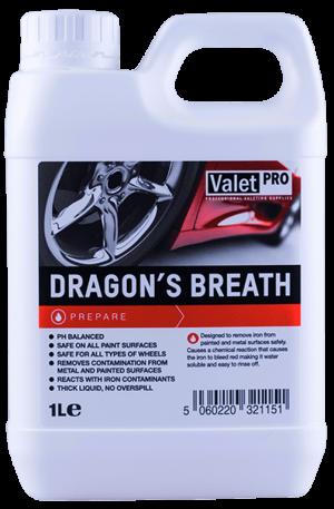 ValetPRO Dragons Breath Środek do usuwania zanieczyszczeń metalicznych 1L