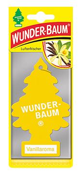 WUNDER-BAUM Drzewko zapachowe, odświeżacz samochodowy - Zapach Vanillaroma