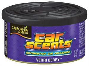 CALIFORNIA SCENTS Odświeżacz powietrza Car Scents - Zapach Verri Berry