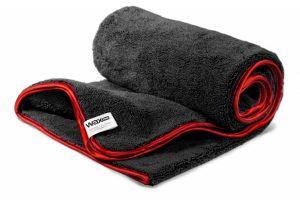 WaxPRO Perfect Fluffy Dryer Black Series 600gsm Ręcznik do osuszania lakieru 100x60cm