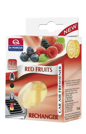 DR. MARCUS Wkład wymienny - Zapach samochodowy Red fruits